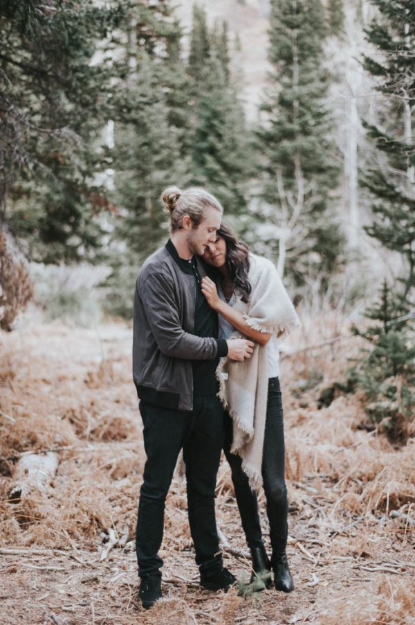 This Salt Lake City Engagement is Like a Folksy Forest Fairy Tale Blush Photography-29