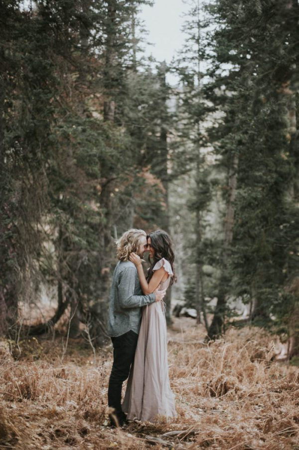 This Salt Lake City Engagement is Like a Folksy Forest Fairy Tale Blush Photography-31