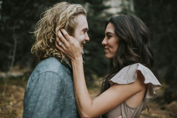 This Salt Lake City Engagement is Like a Folksy Forest Fairy Tale Blush Photography-34