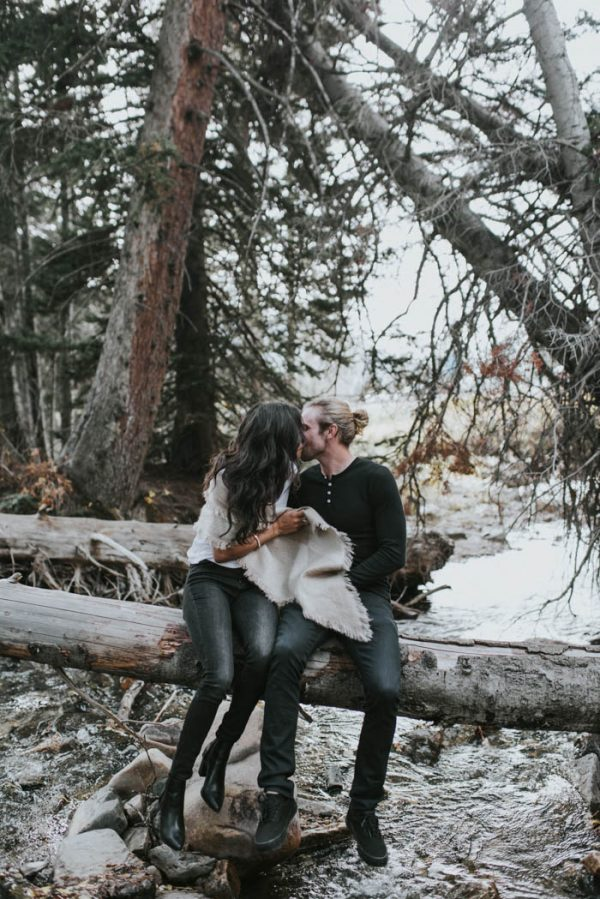 This Salt Lake City Engagement is Like a Folksy Forest Fairy Tale Blush Photography-39