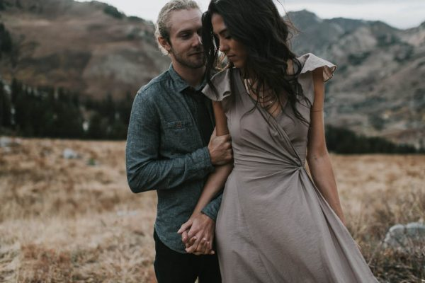 This Salt Lake City Engagement is Like a Folksy Forest Fairy Tale Blush Photography-48