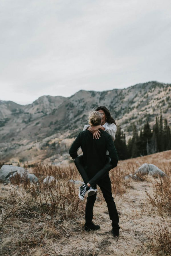 This Salt Lake City Engagement is Like a Folksy Forest Fairy Tale Blush Photography-6