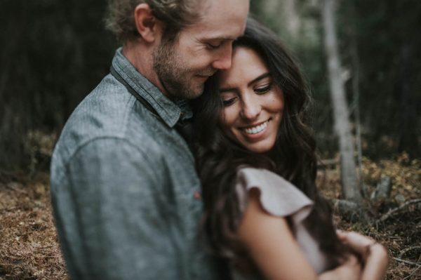 This Salt Lake City Engagement is Like a Folksy Forest Fairy Tale Blush Photography