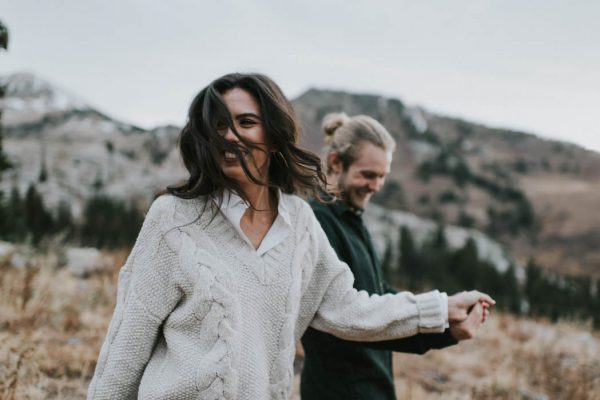 This Salt Lake City Engagement is Like a Folksy Forest Fairy Tale Blush Photography-9
