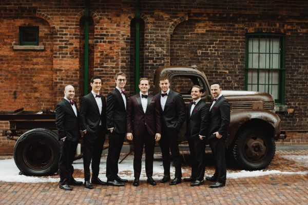 Urban Glam Toronto Wedding at the Fermenting Cellar Mango Studios-17