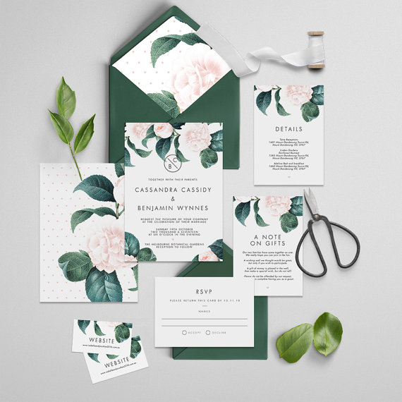 the best in etsy wedding invitation suites junebug weddings