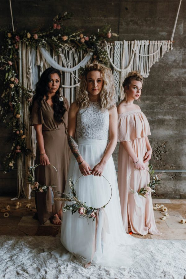 Cozy Spring Wedding Inspiration in Portland, Oregon