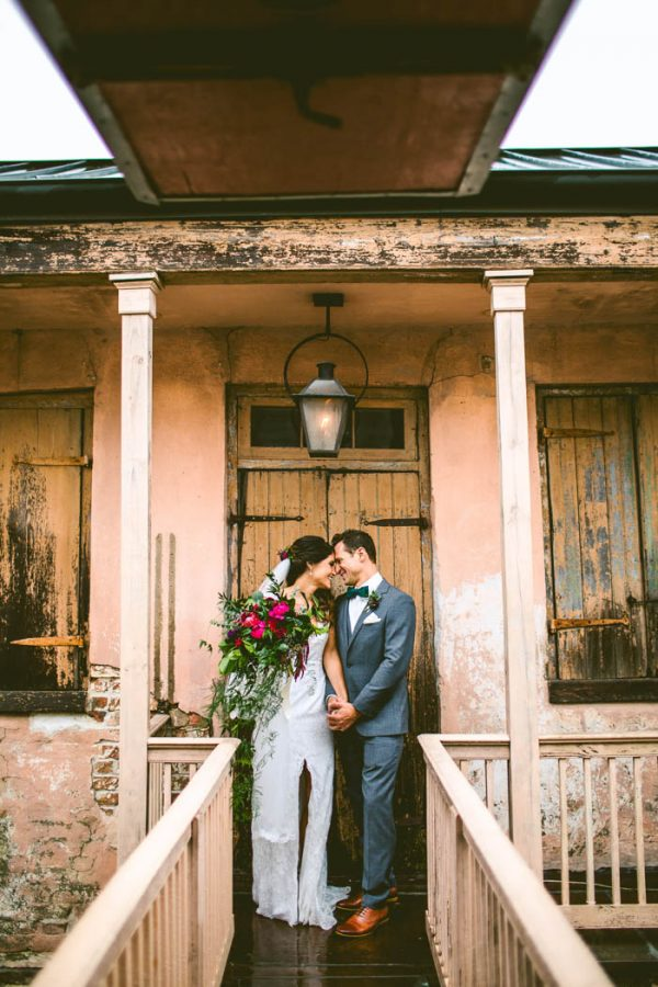 Eccentric New Orleans Wedding At The Pharmacy Museum And Race Religious Junebug Weddings