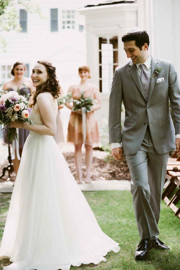 Enchanting Jewish Wedding in Cleveland, Ohio | Junebug Weddings