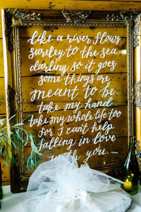 25 Love Quotes To Display On Your Wedding Day Junebug