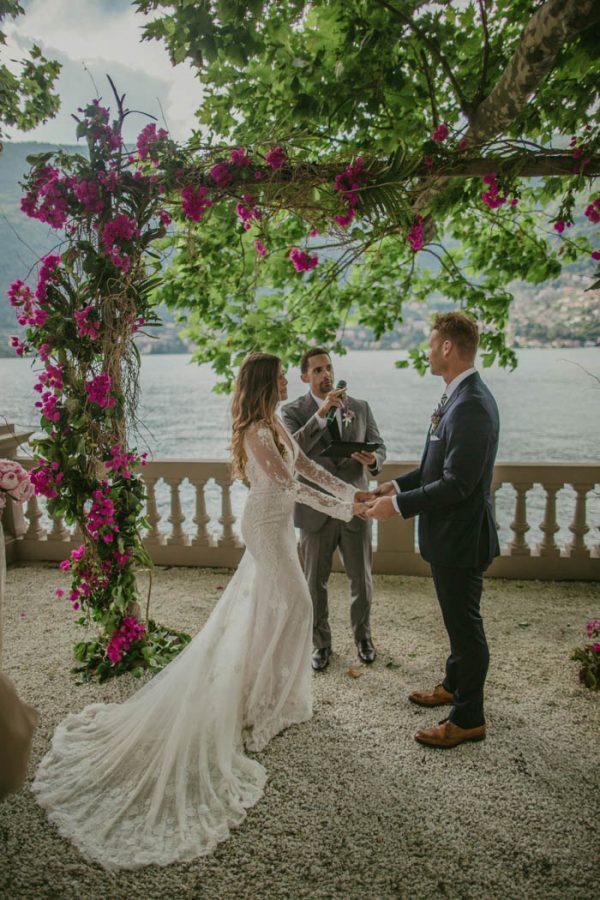 Understated Lake Como Wedding