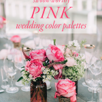 7 Swoon-Worthy Pink Wedding Color Palettes