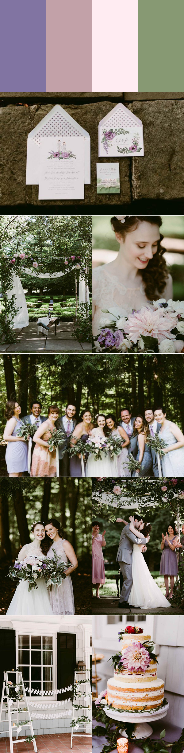 5 Sweet Spring Wedding Color Palette Ideas Junebug Weddings