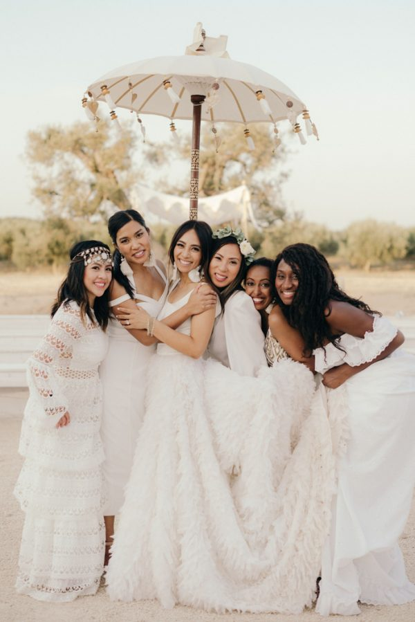 Moroccan-Inspired Boho Chic Wedding in Southern Italy | Junebug Weddings