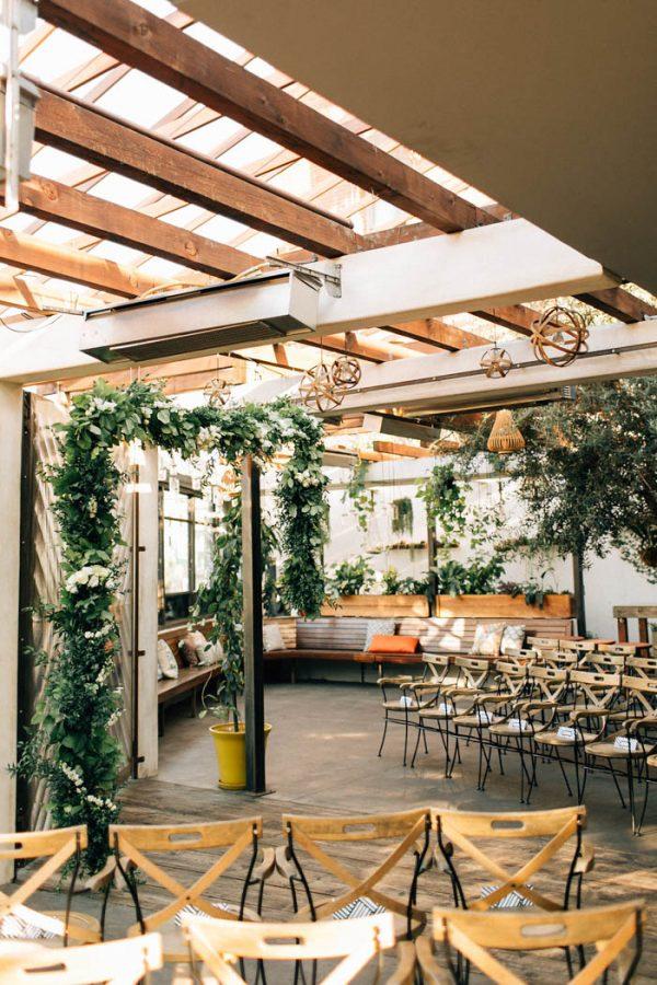 Sophisticated Botanical Los Angeles Wedding at Madera Kitchen ...
