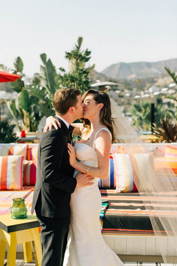 one of our overarching goals in planning our wedding was to share a slice of our life here in los angeles with our closest friends and family