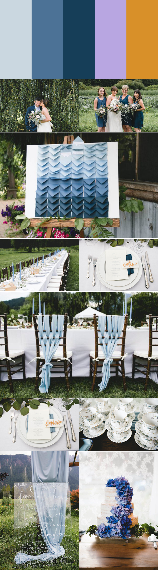 5 Rustic Wedding Color Palette Ideas | Junebug Weddings