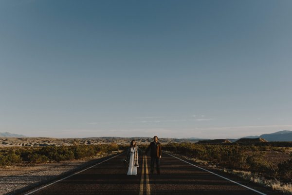 Bohemian Wedding At Big Bend National Park Junebug Weddings
