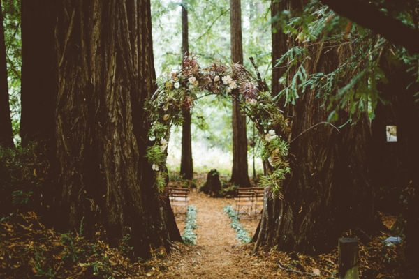 Magical Estate Wedding In The Middle Of A Redwood Forest Junebug Weddings