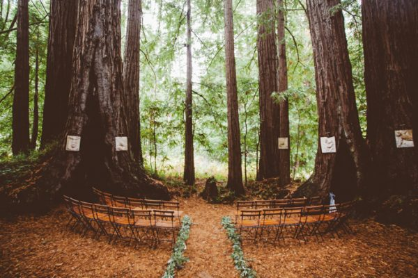Redwood Forest Wedding Venue | Magical Estate Wedding In The Middle Of A Redwood Forest Junebug