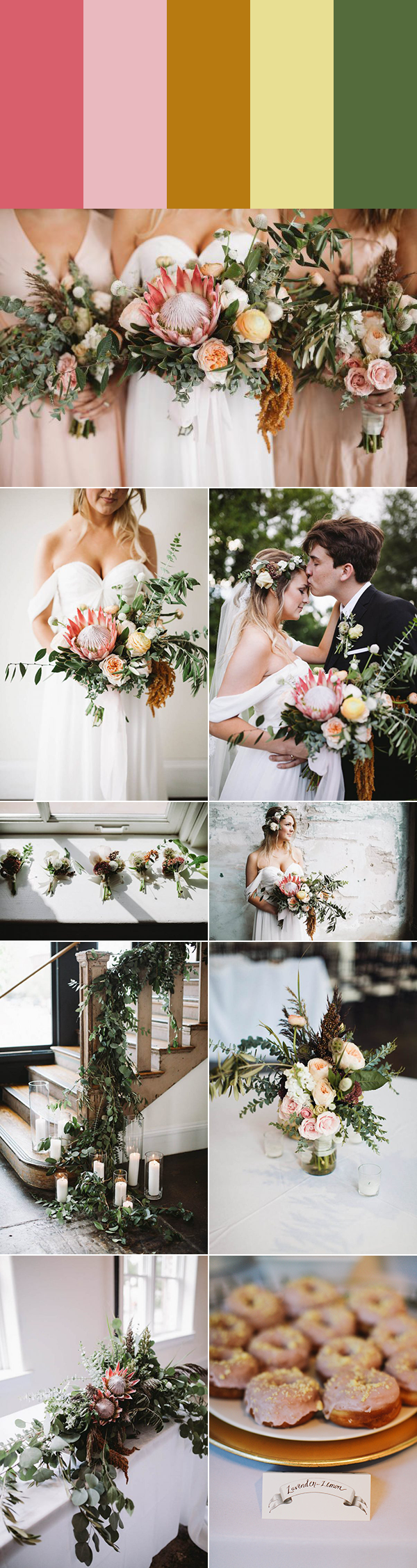 Photos By Sanford Creative Fl Design Mea Flowers Als Donuts Double Trouble See More From This Wedding Here