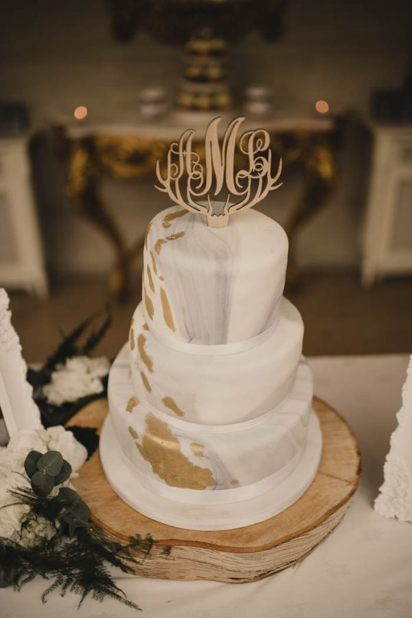 Baked And Wired Wedding Cake