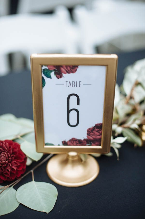 40 Reception Table Numbers We Absolutely Adore Junebug