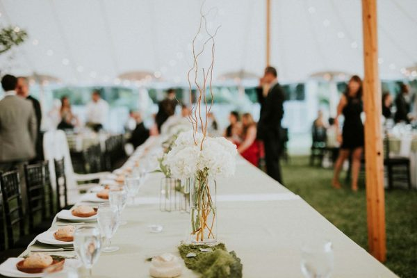 Summery White Orchid At Oasis Wedding Along The Caloosahatchee River