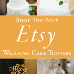 The Best Etsy Wedding Cake Toppers