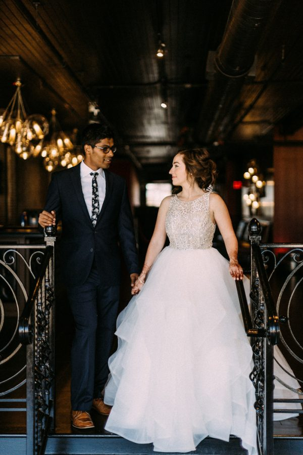 Blended Christian and Hindu Wedding at Loft 310