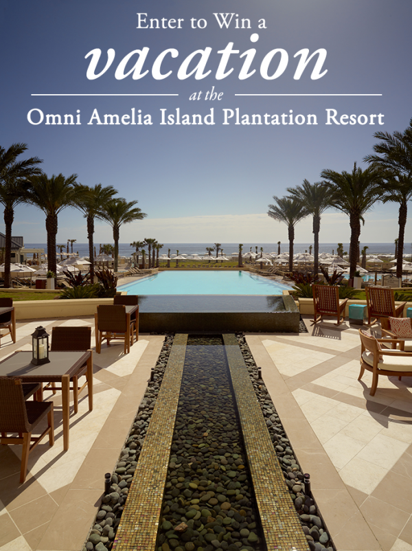 Enter To Win A Vacation At The Omni Amelia Island