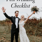 Don't Forget to Tie Up Loose Ends with This Post-Wedding Checklist