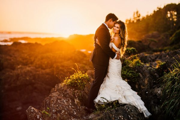 Rugged Beach Wedding at Black Rock Oceanfront Resort