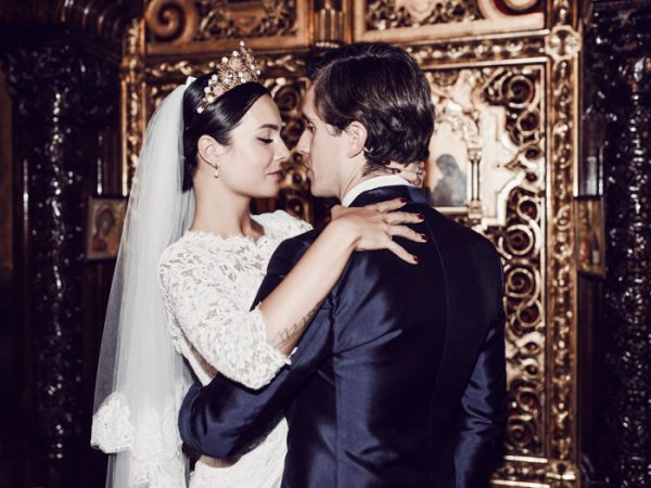 This Eastern Orthodox Lithuanian Wedding is Royally Gorgeous