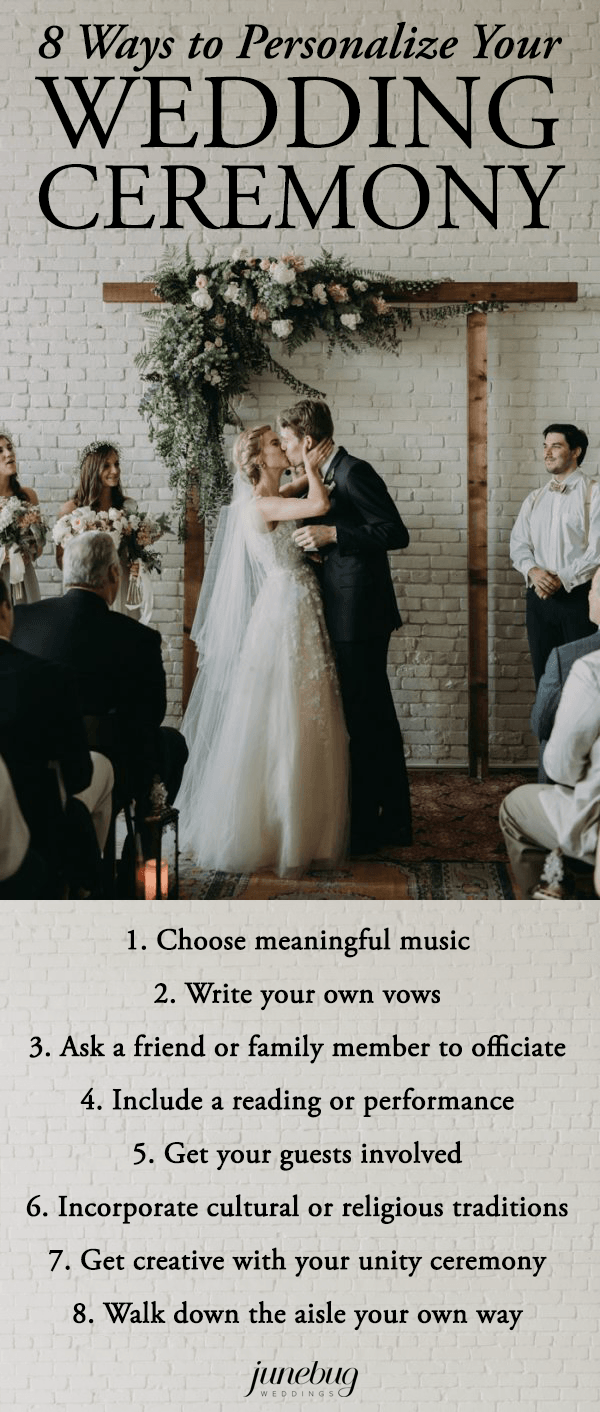Looking For More Ways To Personalize Your Wedding Check Out These Planning Ideas