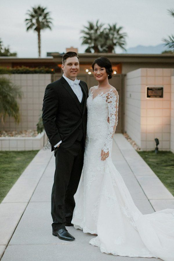 Absolutely Glamorous Palm Springs Wedding at The Frank Sinatra Estate