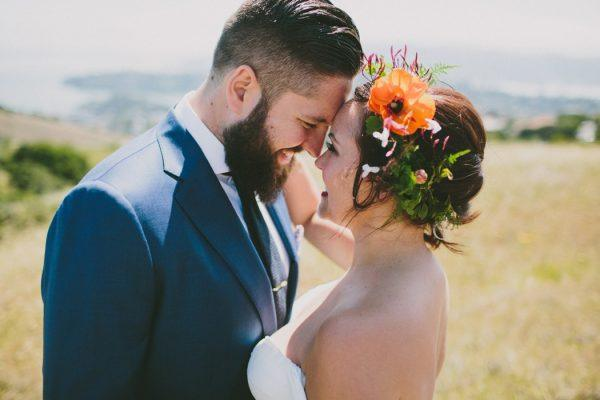 Colorful Al Fresco Wedding in California