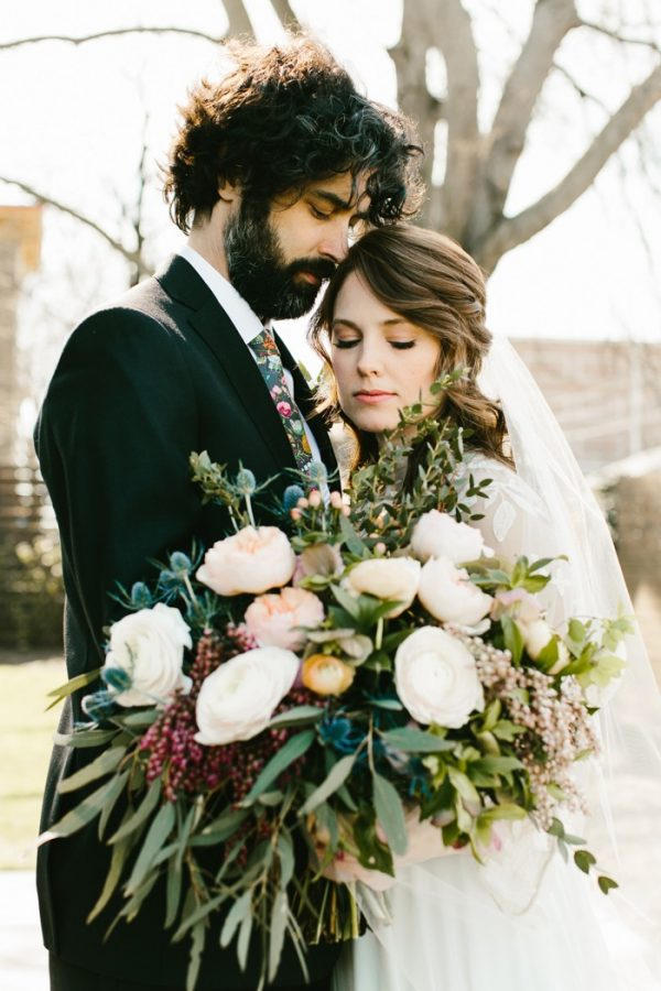 Natural Industrial Downtown Nashville Wedding at The Cordelle