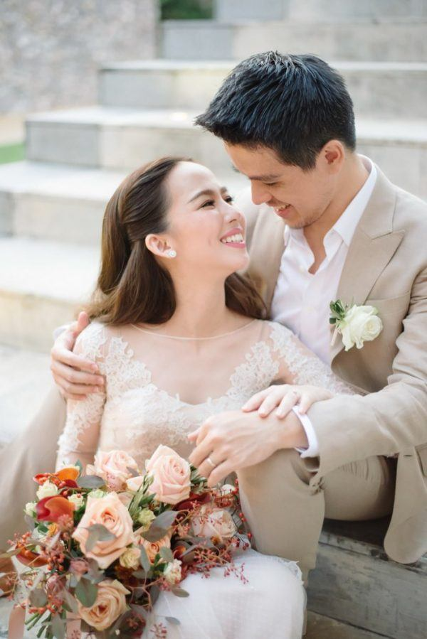 when it comes to relaxed elegance and dreamy garden wedding vibes pim and names wedding at x2 kui buri resort was the perfect mix of both