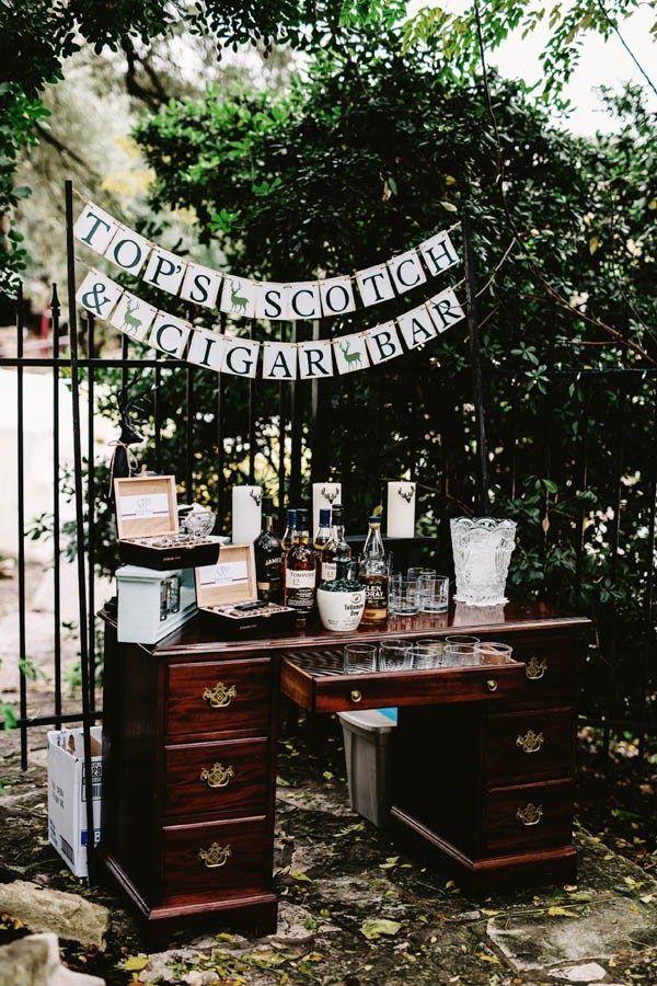 18 Creative Reception Bar Ideas | Junebug Weddings