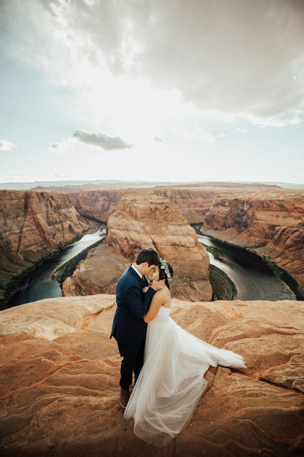Horseshoe Bend Arizona Wedding