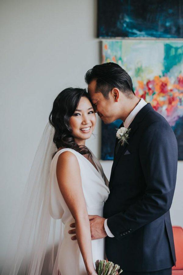 Vintage Modern Los Angeles Wedding at The Fig House