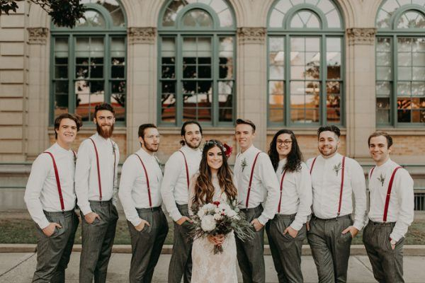 Burgundy Boho Modesto Wedding At The Century Junebug