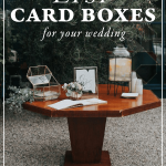 The Best Etsy Card Boxes for Your Wedding