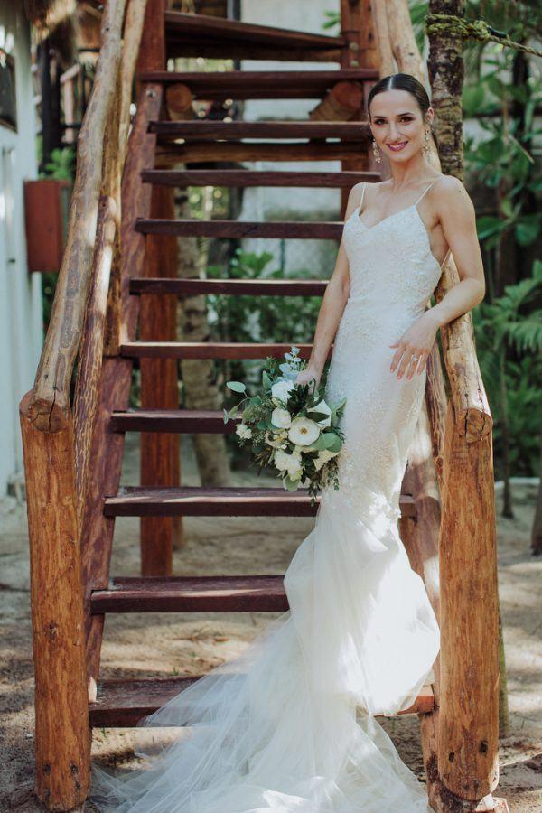 This Gorgeous Tulum Beach Wedding Is A Breath Of Fresh Air Junebug
