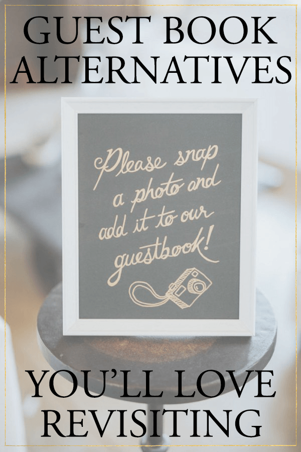 5 Creative Wedding Guest Book Alternatives You\'ll Love Revisiting ...
