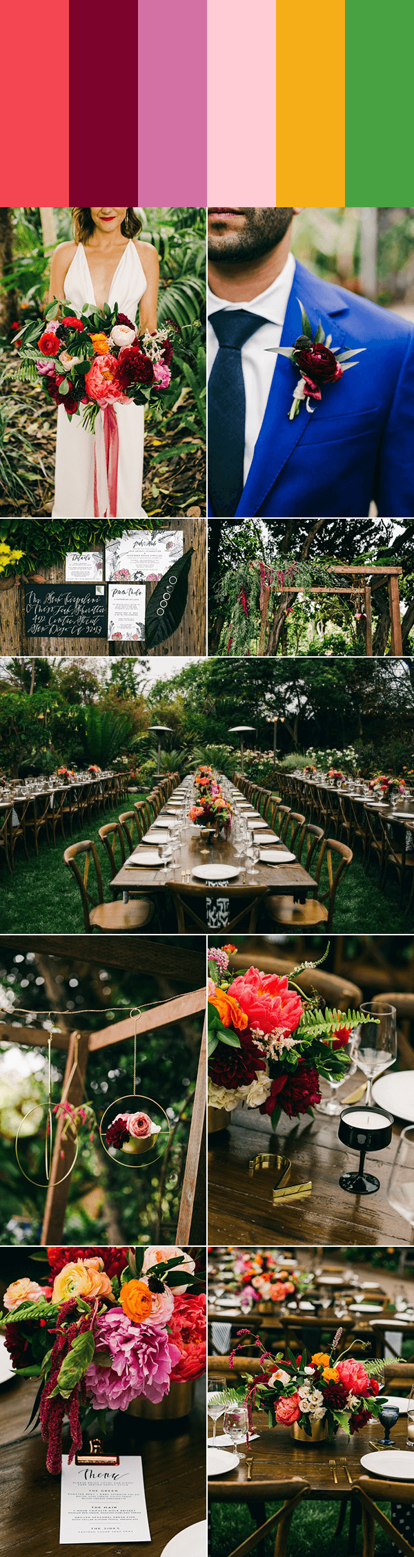 Perfect Colors For A Fall Wedding