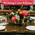 6 Stylish Summer Wedding Color Palettes