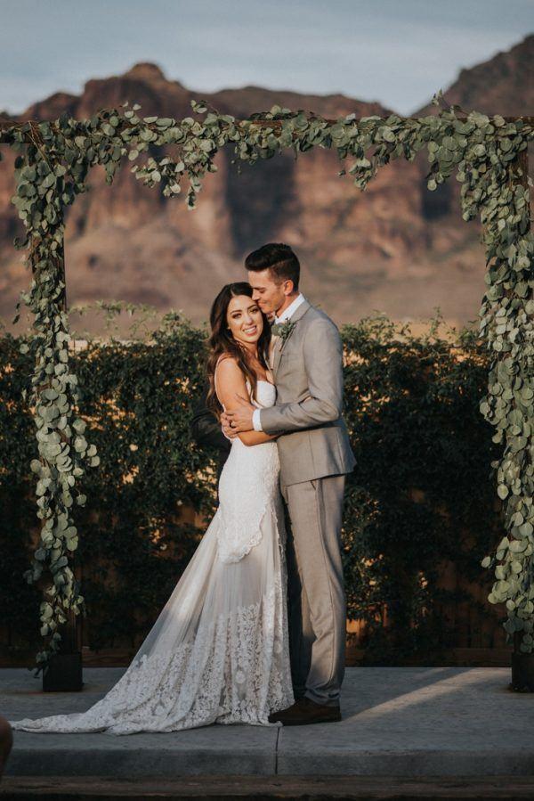 Boho Arizona Desert Wedding at The Paseo | Junebug Weddings