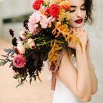 Edgy Fall Dallas Wedding Inspiration at Trinity River Audubon